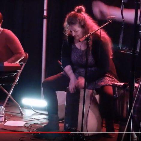 Iris' Drum Solo – live